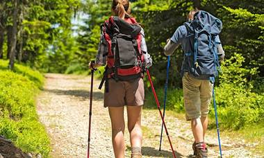 Etno Garden Plitvice Lakes nordic walking