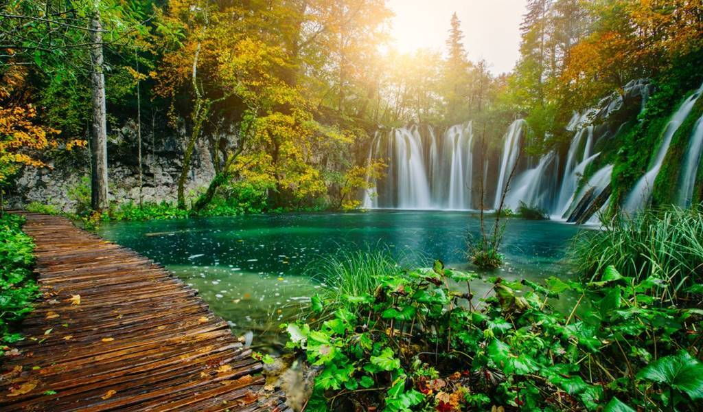 Plitvice Lakes post 1 all time of the year proljece