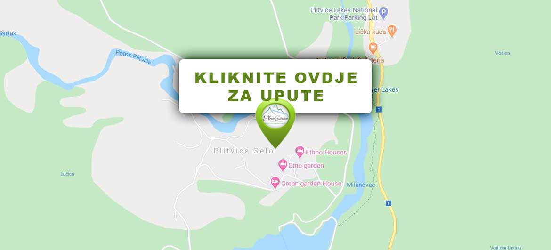 Etno Garden Plitvice Lakes Karta Upute