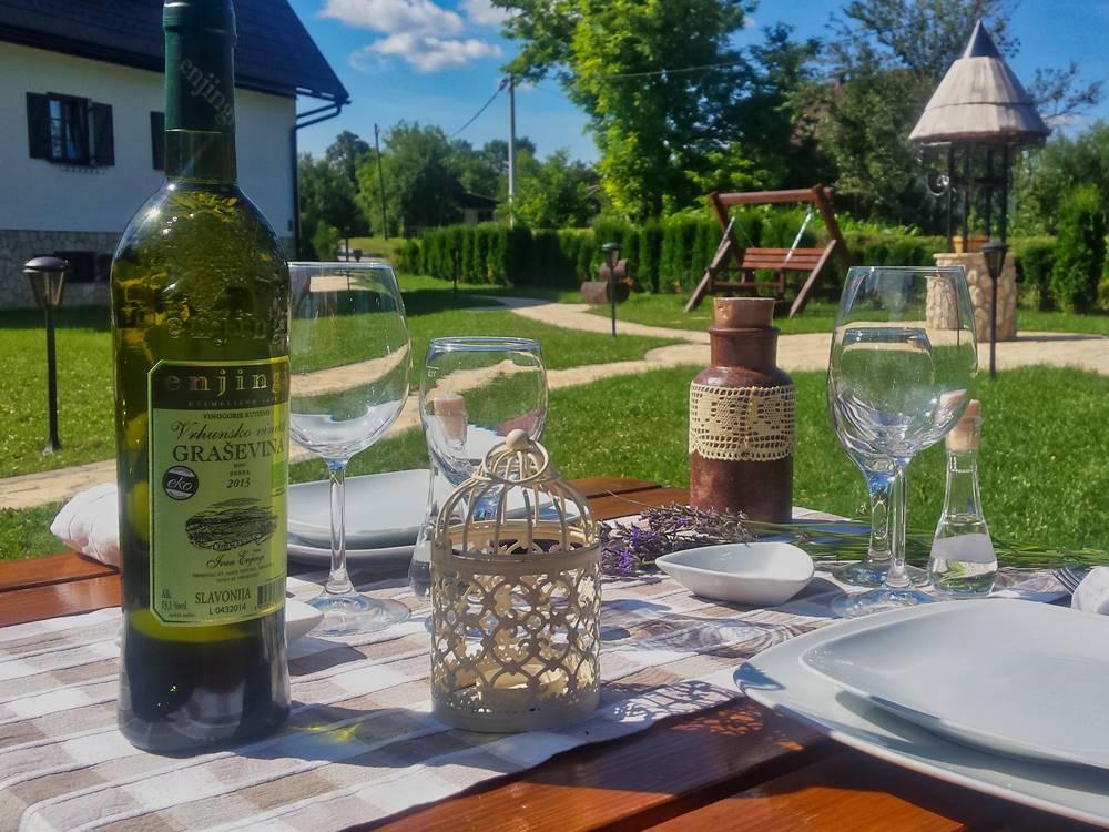 Plitvice Lakes Restaurant Gourmet Etno Garden Plitvice Lakes Croatia 2020 002