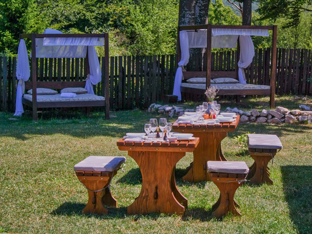Plitvice Lakes Restaurant Gourmet Etno Garden Plitvice Lakes Croatia 2020 003
