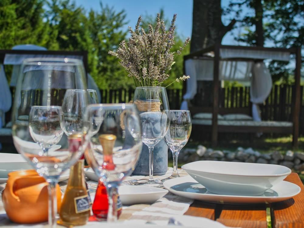 Plitvice Lakes Restaurant Gourmet Etno Garden Plitvice Lakes Croatia 2020 004
