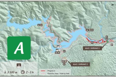 Plitvide Lakes Route Program A Entrance 1