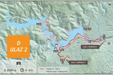 Plitvide Lakes Route Program D Entrance 2
