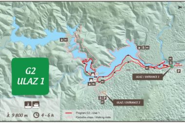 Plitvide Lakes Route Program G2 Entrance 1
