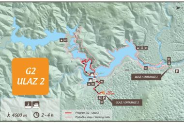 Plitvide Lakes Route Program G2 Entrance 2