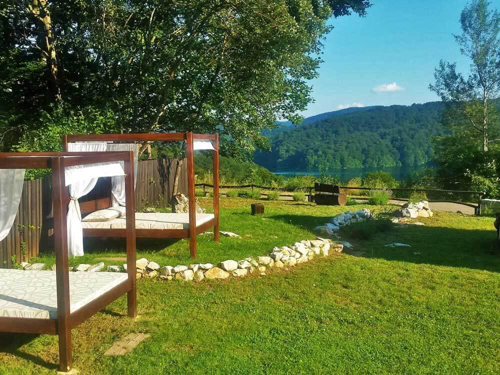 Spring in Plitvice Lakes Etno Garden