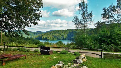 Summer in Plitvice Lakes Etno Garden